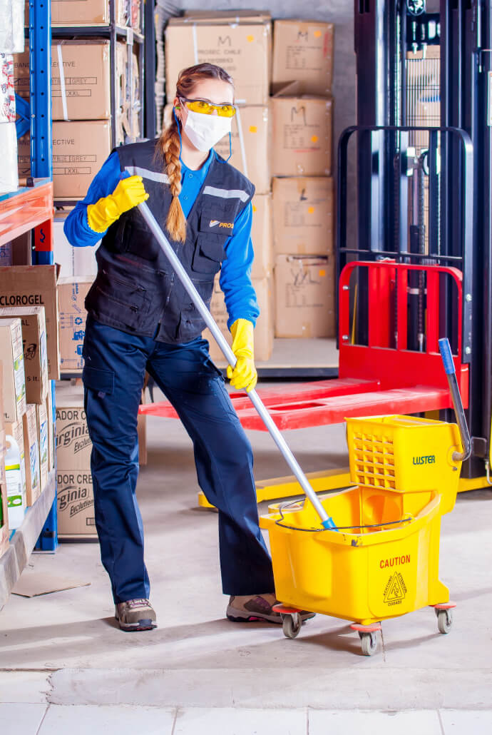 Fiduz ist Ihr Partner in Sachen Sauberkeit